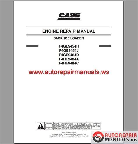 case engine service manual auto repair manual forum heavy equipment forums download repair
