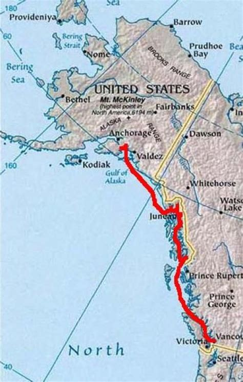 princess cruises routes map of alaska cruise routes google search one of two