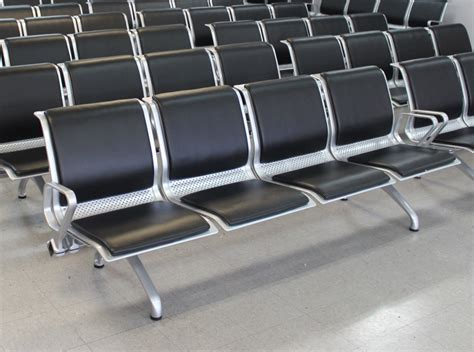 Padded Bench Seats Pacifica Airport Seating Alliance