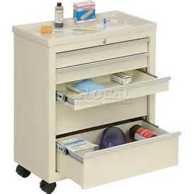 medical bedside emergency service supply carts hospital