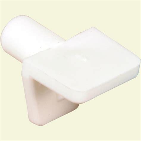 Plastic Shelf Pegs by Prime Line 5 Mm White Plastic Shelf Support Peg 8 Pack U