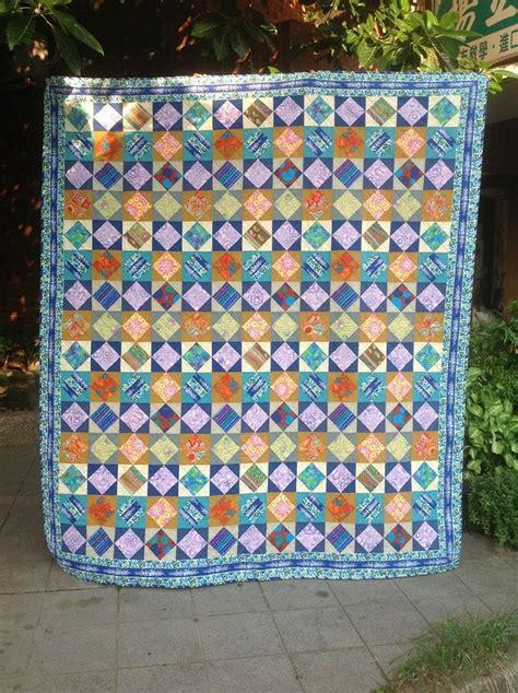 Kaffe Fassett Quilt Fabric quilt by 楊立如 using kaffe fassett fabrics kaffe fassett