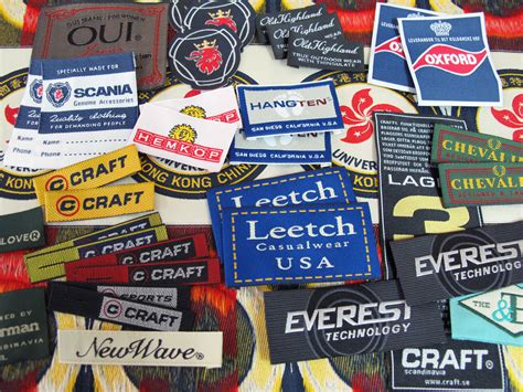 Mesin Woven Label Well Company Embroidery Badge Ltd Woven Label