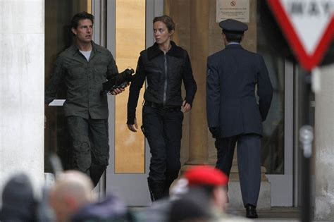 film tom cruise emily blunt tom cruise in tom cruise and emily blunt film in london