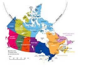 large us and canada map large administrative divisions map of canada vidiani