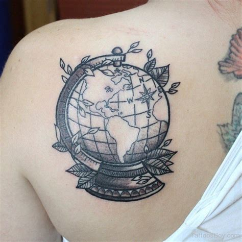globe tattoo ideas back tattoos designs pictures page 2