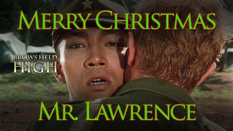 merry christmas  lawrence  miserable holiday    miserable year brows held high