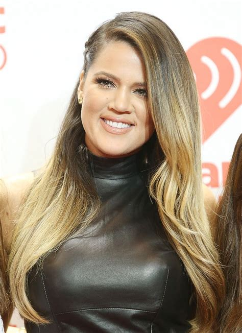 khloe kardashians ombre hair expert tips to get the look khloe blonde balayage