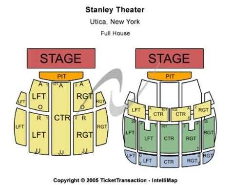 stanley theater utica ny seating chart stanley theatre tickets and stanley theatre seating chart
