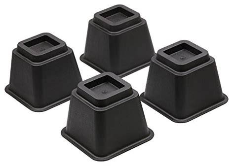 desk riser blocks bedtime sleeper bed risers or furniture riser in heights of 8 5 or 3 inches heavy duty set of 4