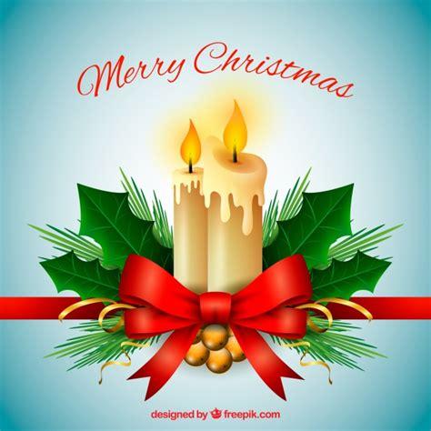 decoracion de navidad velas fondo de feliz navidad con adornos navide 241 os y velas