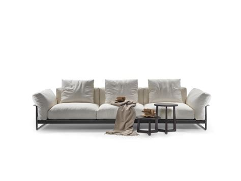 Cowhide Upholstery Zeno Light Sofas Sectional Sofas