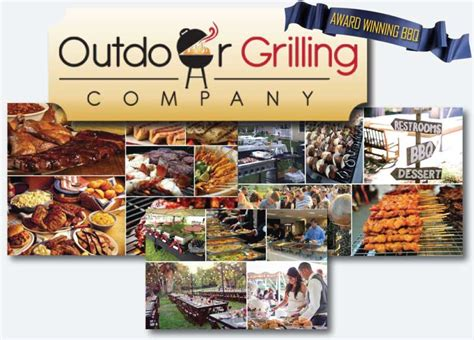 Backyard Bbq Grill Company Our Bbq Catering Team Outdoor Grilling Company Bbq