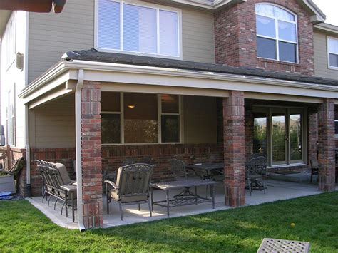 Backyard Overhang Patio Pit On Patio Furniture And Inspiration Patio