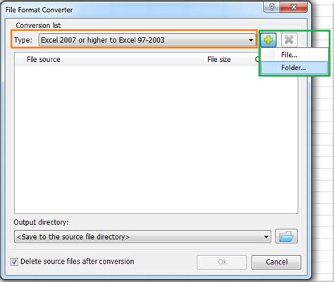 format file html how to convert multiple xlsx formats to xls formats or