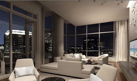 w austin living room impressive new w renderings towers
