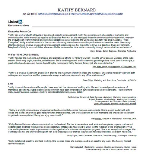 Letter Of Recommendation On Linkedin wiserutips make an instant list of your linkedin