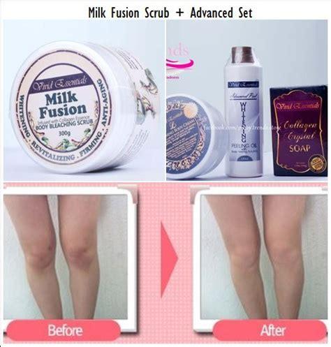 Collagen Bleaching Whitening bleaching milk salt scrub with collagen firming