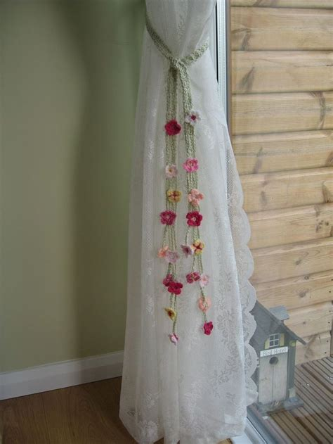 flower tie backs for curtains best 25 curtain ties ideas on pinterest curtain