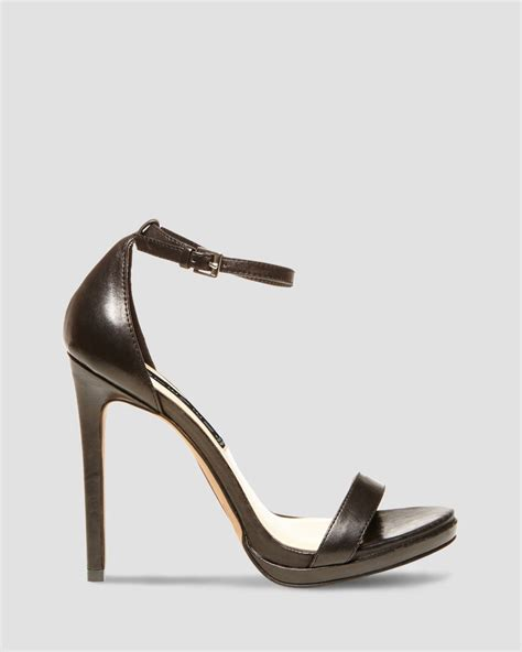 heeled sandal steven by steve madden sandals rykie ankle high