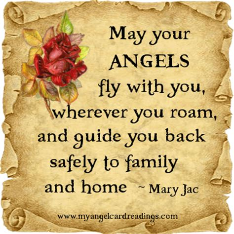 may your fly with you wherever you roam and guide