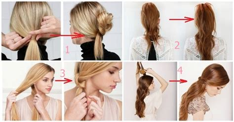 easy ways to make cute hairstyles 3 fast and easy ways to make amazing hairstyle makeup mania