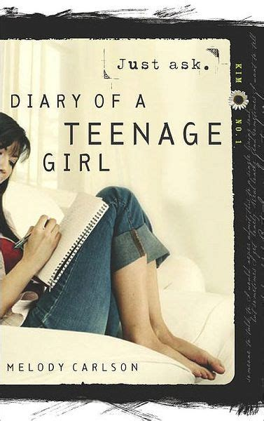 libro diary of a teenage just ask diary of a teenage series kim 1 by melody carlson paperback barnes noble 174