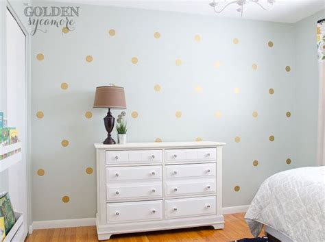 Paint Polka Dots Bedroom Wall by 25 Best Ideas About Gold Polka Dots On Polka
