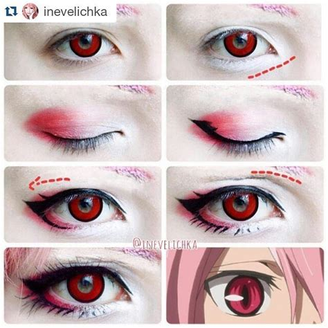 tutorial makeup hinata 139 best images about cosplay make up on pinterest