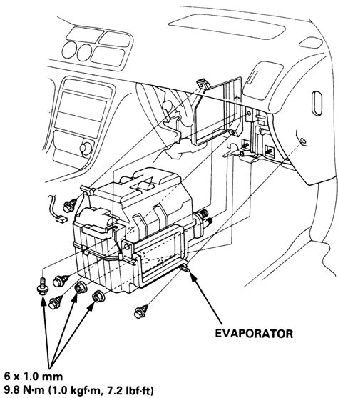 how to remove the evaporator from a 1994 dodge colt service manual how to remove a 1994 subaru