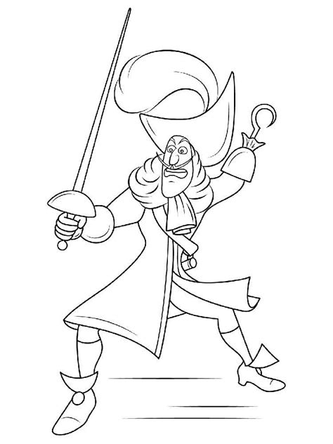 Peter Pan coloring pages. Download and print Peter Pan