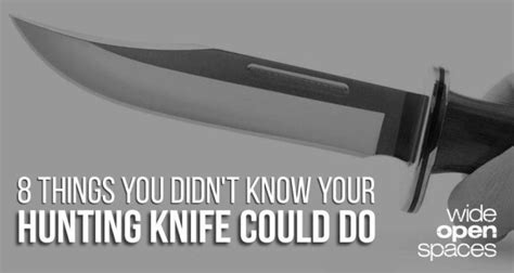 8 Things You Didnt You Could Put In Your Usb Slot by 8 Awesome Knife Hacks