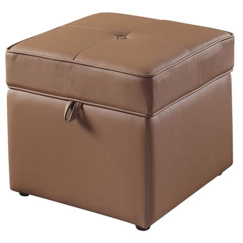 Leather Chair With Ottoman Costco by Leather Ottoman With Storage Costco Home Design Ideas