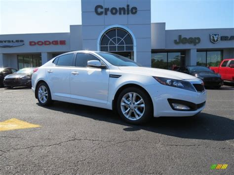 kia optima 2013 ex 2013 snow white pearl kia optima ex 85907529 gtcarlot