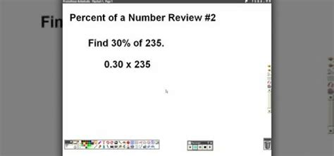 How To Search Numbers How To Find A Percentage Of A Whole Number In Basic Math 171 Math