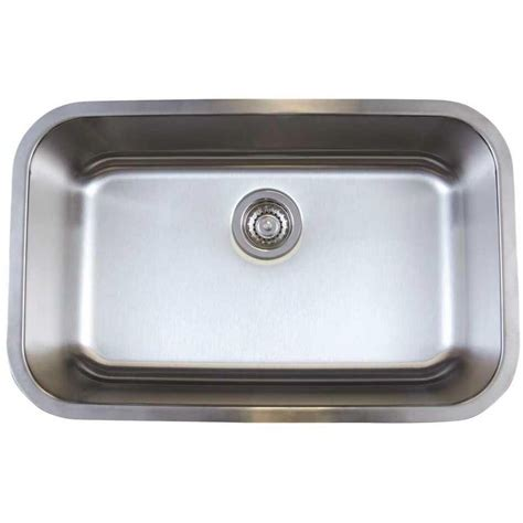 single bowl kitchen sink blanco 441024 stellar stainless steel undermount single