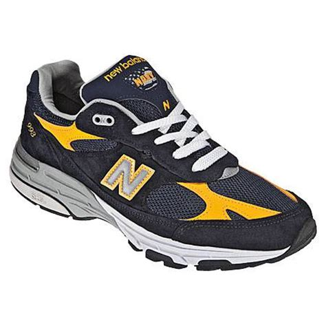 top of the line running shoes new balance m 993 navy ylw us 13 mens running shoe top of