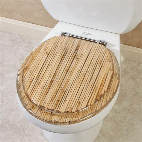 toilet seat bamboo toilet seat