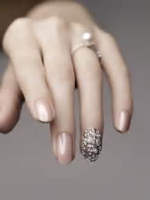 beautiful fashion nail jewellery nail polish nails