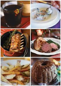 traditional english christmas dinner menu and recipes