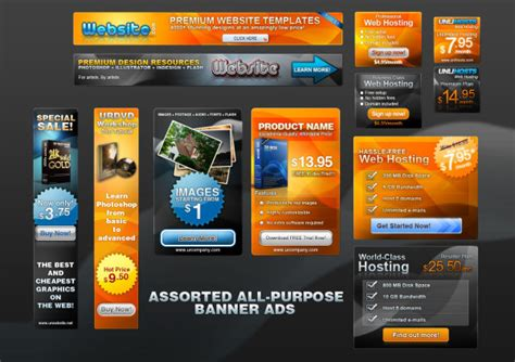 free banner ad templates psd banner ads templates layered material free