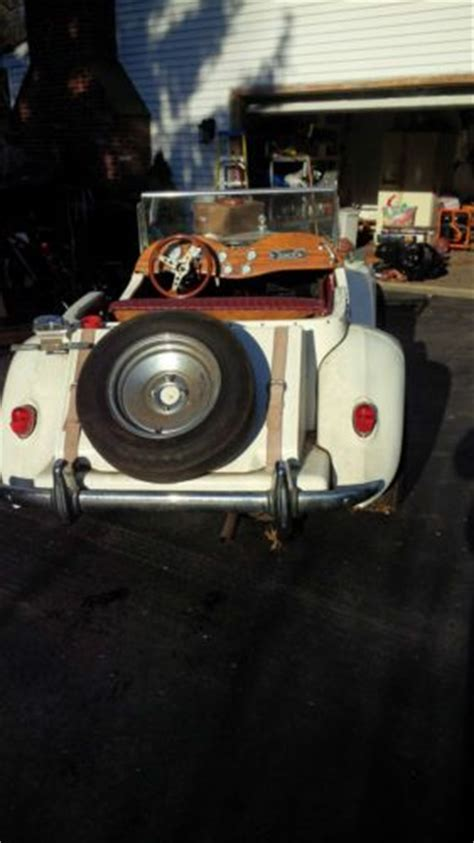 sell  mgtd  kit car  ford chasis  cyl  front engine  exton pennsylvania united