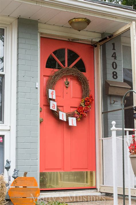 Coral Front Door by Painting Ideas With Behr Paint
