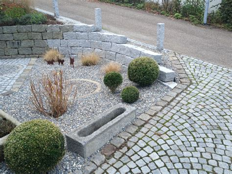 Anlegen Garten by Awesome Steingarten Mit Granit Contemporary Rellik Us
