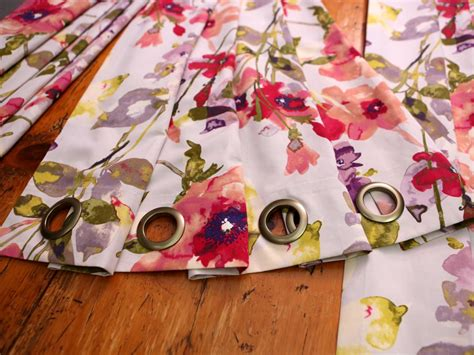 How To Sew Drapes With Grommets Step By Step Instructions For Making No Sew Window
