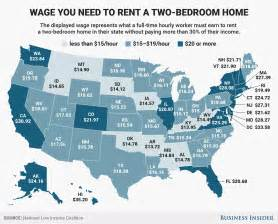 average 1 bedroom rent us how much do you need to earn to rent an apartment in the