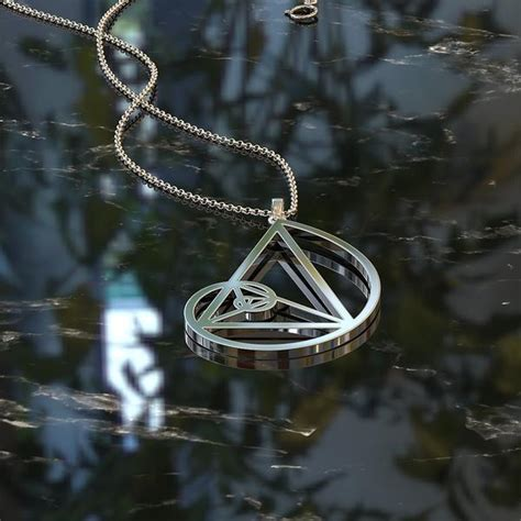 Golden Ratio Necklace golden ratio necklace shineon