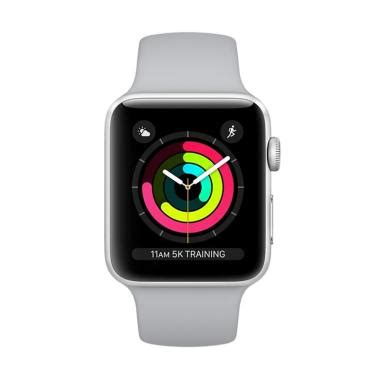 Termurah Apple 2 Series 1 Aluminum Black Sport Band 42mm new deals 2018 promo smartphone elektronik termurah