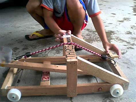 diy mechanical engineering projects mini catapult project