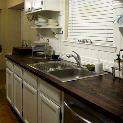 Real Wood Countertops by Home Dzine Kitchen Replace Formica With Solid Wood